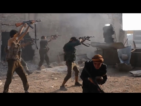 Battle For Aleppo - FSA/Rebels in Heavy Clashes Fighting - S