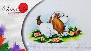 Cachorrinho em Tecido – com Sonalupinturas
