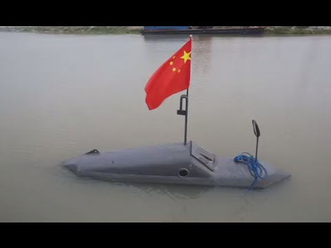 Chinese farmer designs and builds home-made submarine