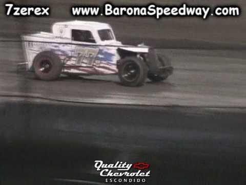 Dwarf Car B Main Barona Speedway 3-25-2017