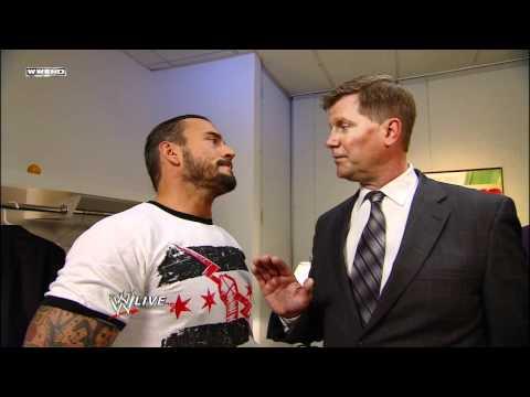 Raw - CM Punk interrupts a secret meeting