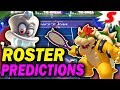 Mario Tennis Aces Character Predictions! Who Will Be in the Game?