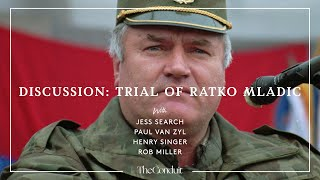 """A conversation on the film """"the trial of ratko mladic"""", which follows story war crimes one most infamous figures balkan war..."""