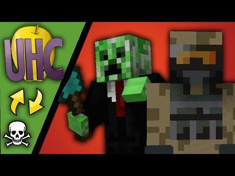 Dansk Minecraft: UHC MODE!!! (Deathswap m/ Zagi)