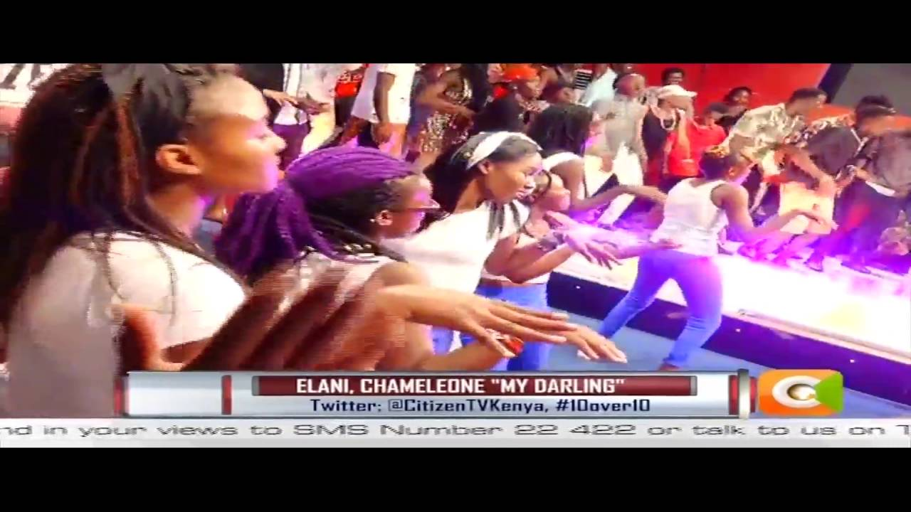Elani Surprise Ugandan Star Chameleone live on 10 over 10