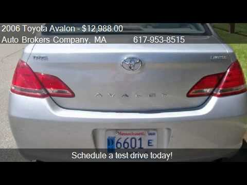 2006 Toyota Avalon Limited For In Somerville Ma 0214