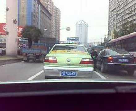 Begger on Wuning Road Shanghai China
