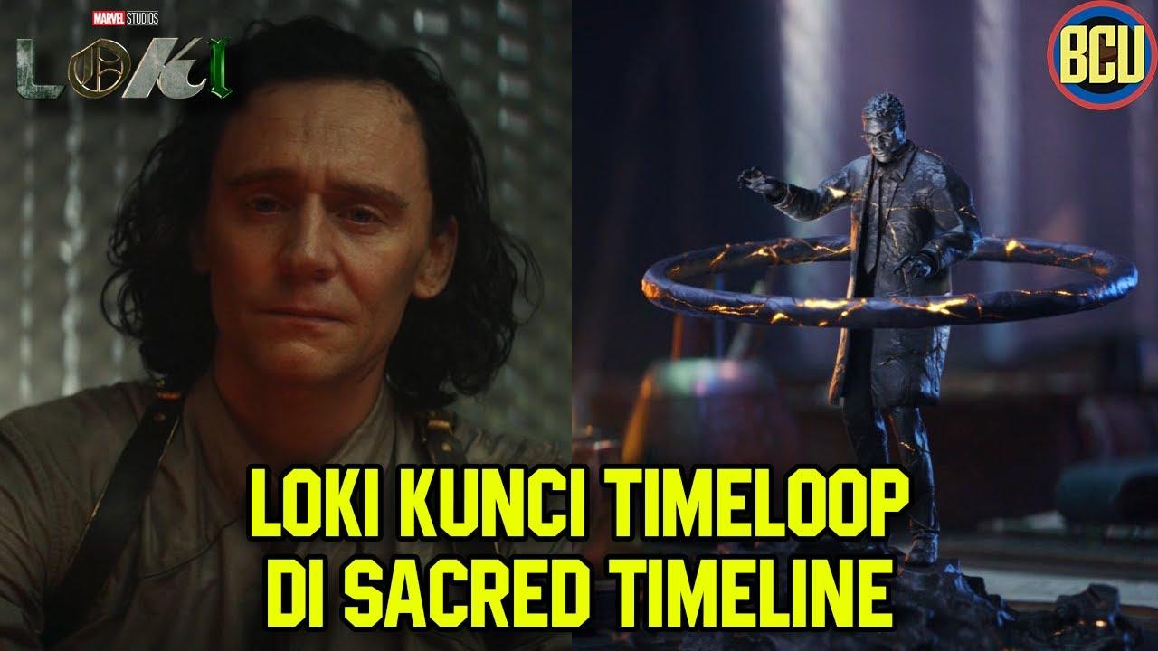 HE WHO REMAINS TERJEBAK DALAM TIMELOOP,  LOKI JADI SOLUSINYA !! | LOKI THEORY BREAKDOWN