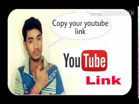 How to copy your youtube channel link/url