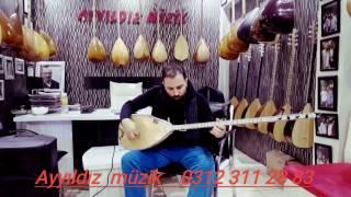 Ayyıldız müzik evi  #İSMAİL_ALTUNSARAY  46 tekne yaprak dut fismenli baglama iletişim:03123112883