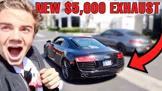 Is THIS The BEST Sounding Audi R8 In The World?  *Frequency Intelligent Exhaust*