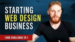 Starting a New Web Design Business Challenge -  Fox Web Tv #001