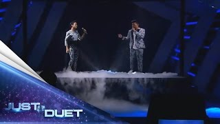 Video Beautiful performance by Rizky Febian & Melly Mono with Kesempurnaan Cinta - Result Show - Just Duet download MP3, 3GP, MP4, WEBM, AVI, FLV Oktober 2018