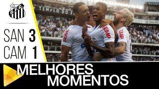 Santos 3 x 1 Atlético-MG | MELHORES MOMENTOS | Brasileirão (04/11/17)