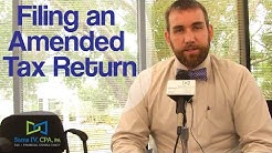 Video 14 - Myths About Filing an Amended Tax Return