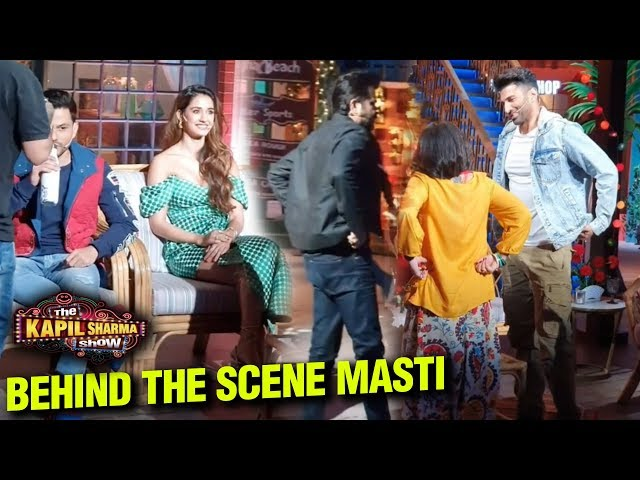 The Kapil Sharma Show Behind The Scenes FUN With Anil Kapoor, Aditya Roy Kapur   Malang