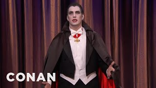 Halloween Safety Tips From Hacky Dracula  - CONAN on TBS