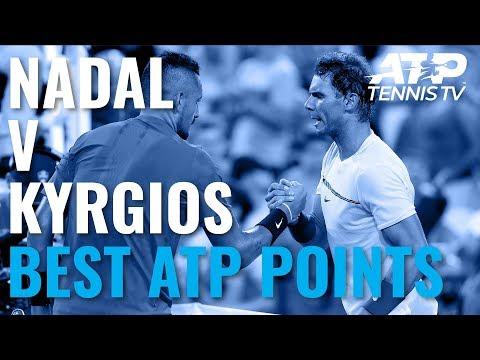 Rafael Nadal vs Nick Kyrgios: Best ATP Shots & Rallies (So Far)