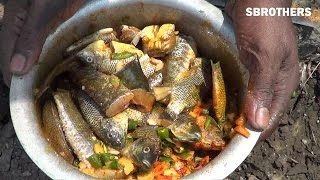Fish Cooking In India | Street Fishing And Cooking | Village Style Cooking | Street Food in India