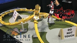 Skyline Atractions Talks Harley Quinn Crazy Coaster and more concepts at IAAPA 2017