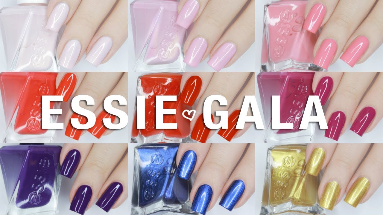 Essie GelCouture Gala Bolds Collection | Live Swatches + Review ...