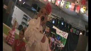 Lidia Gomez - El Moreno - Caseta Casa de Alora-Gibralfaro . Feria de Malaga 2011