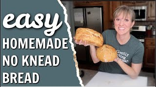 EASY HOMEMADE BREAD | HOW TO MAKE ARTISAN BREAD ON A BUDGET | PANTRY CHALLENGE