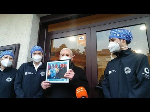 Ourense ya vacuna con la segunda dosis