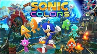 Sonic Colors - Nintendo Wii Edition - Videos Games for Kids - Girls - Gameplay Video