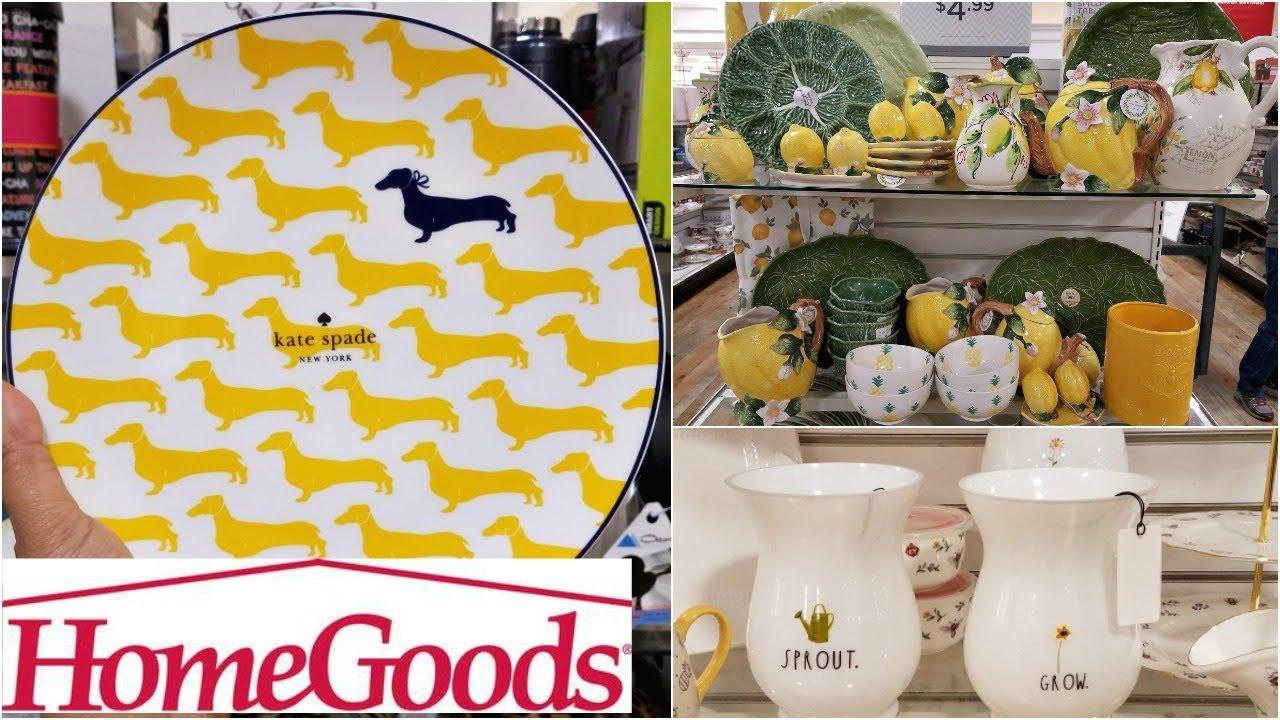 Shop WITH ME HOMEGOODS KITCHENWARE LEMON SPRING SUMMER KITCHEN HOME ...
