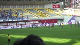 2015.10.24 ヴィッセル神戸 vs モンテディオ山形 アルセウのゴール