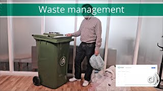 Acconeer Waste Level Demo