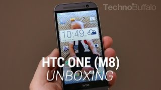 HTC One (M8) Unboxing