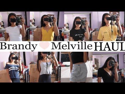 HUGE Brandy Melville Try-On Haul! 50+ THINGS