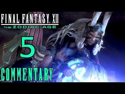 Final Fantasy XII The Zodiac Age Walkthrough Part 5 - Fran & The Leading Man PS4 Gameplay