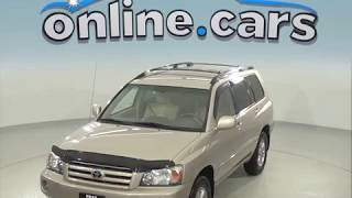 A96787CT Used 2005 Toyota Highlander SUV Gold Test Drive, Review, For Sale