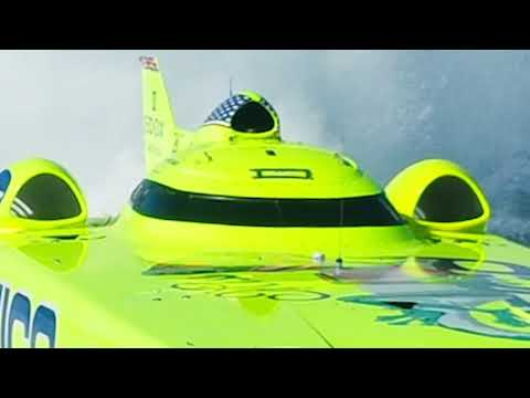 miss geico 213mph world champion offshore turbine boat.