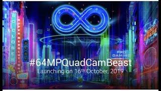 Xiaomi Mi India Redmi Note 8 Pro Product Launch | #64MPQuadCamBeast