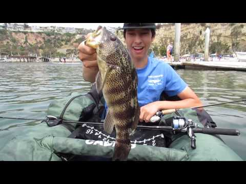 Dana Point Harbor Fishing | Float Tube Fishing
