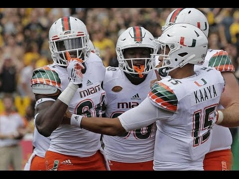 Miami Hurricanes Highlights @ Appalachian State
