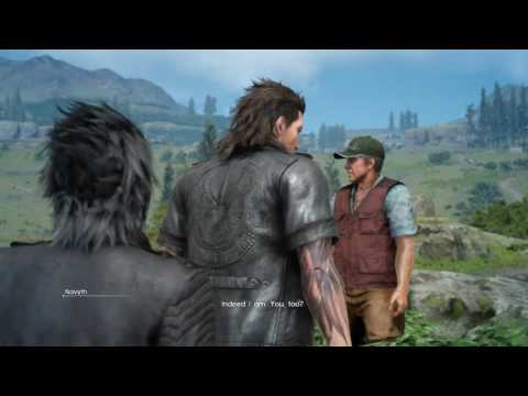 Gladio just can't get enough attention