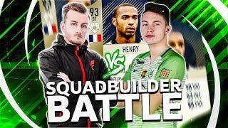 Fifa 18: Prime Henry (93) Squad Builder BATTLE vs STYLO
