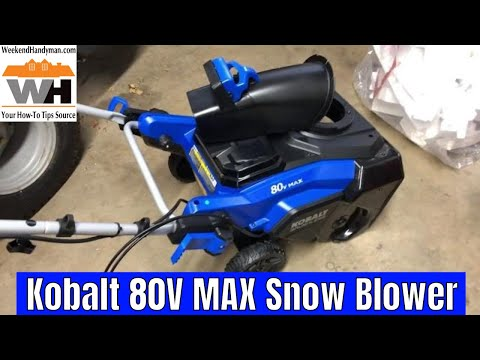 Repeat Why Is My Kobalt 80V Max 22