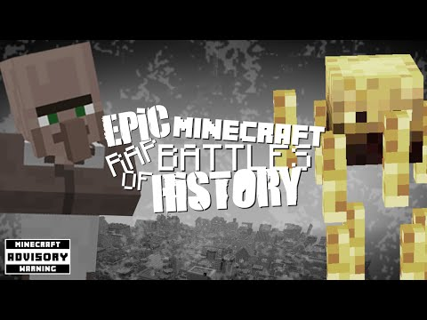 ♪ Epic Minecraft Rap Battles of History: Villager vs Blaze