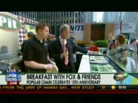 Pita Pit on Fox and Friends (July 16, ...