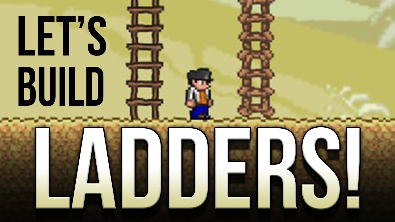 Terraria four simple ladder designs youtube terraria four simple ladder designs solutioingenieria Gallery