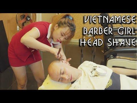 4K 💆 Vietnamese Barbershop