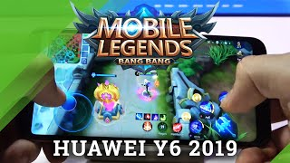 Mobile Legends in Huawei Y6 (2019) – Performance & Quality Checkup
