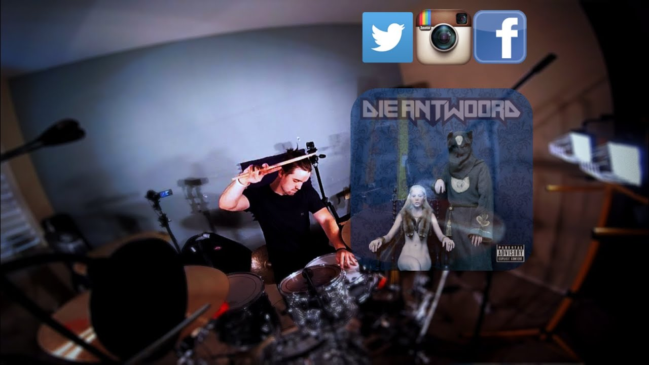 Die antwoord fish paste drum cover youtube for Die antwoord fish paste