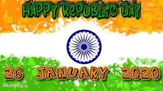Happy Republic Day 2020 Whatsapp Status Video